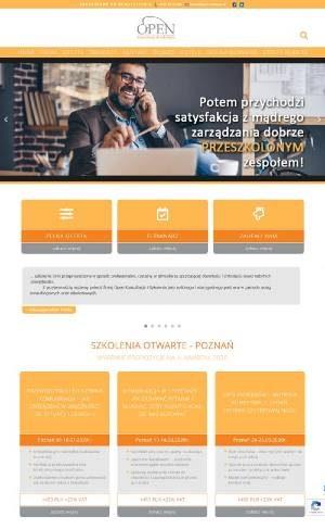 portfolio Interpress Plus - strona firmy OPEN Konsultacje i Szkolenia
