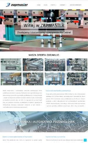 portfolio-INTERPRESS+ strona ZAPMASTER